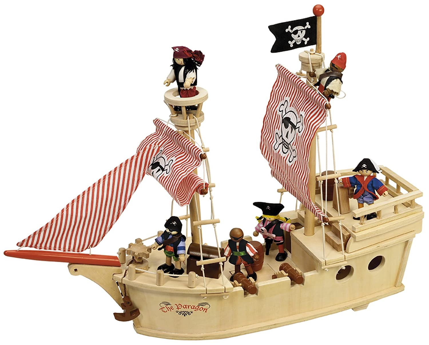Tidlo The Paragon Pirate Ship John Crane T0094
