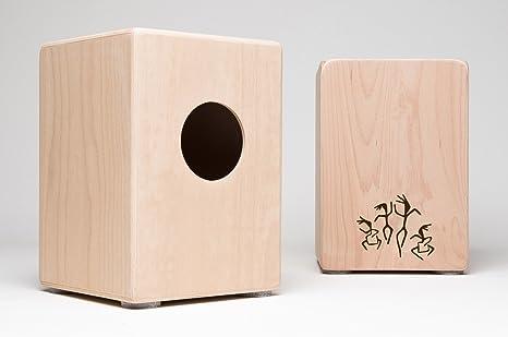 Favorit Cajon für Kinder, Kindercajon, Junior Box, Trommel, Hocker, Made SI03
