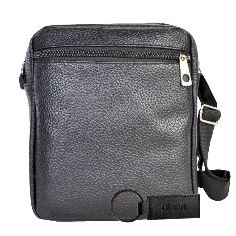 0b8c716918 Charmoni - Sac pochette sacoche à bandoulière et sa porte clé cuir en cuir  synthétique [1541602183-228467] - €9.97