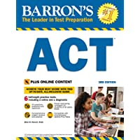 Barron's ACT 3rd Edition with Bonus Online Tests