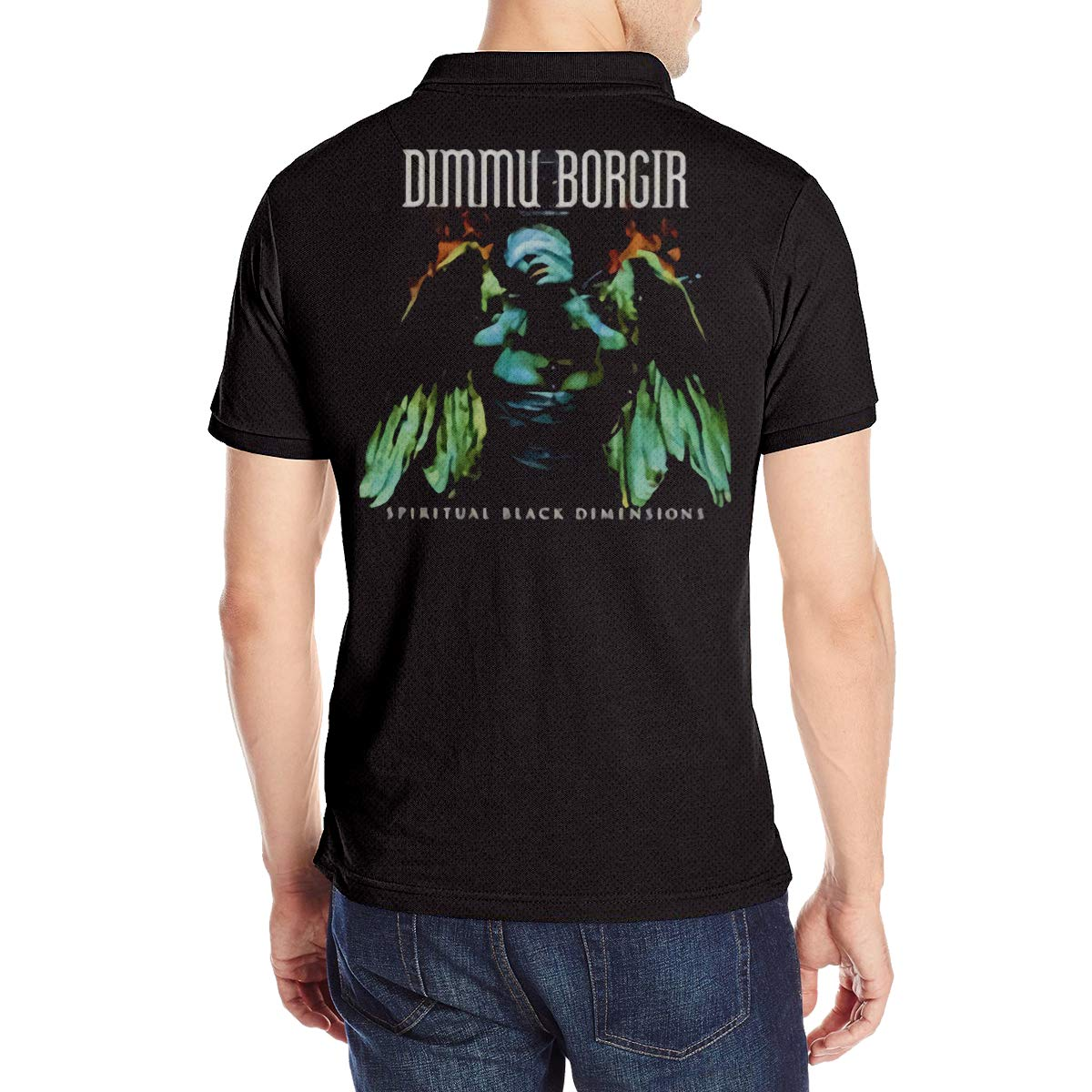 MJCoulombe Mans Dimmu Borgir Fashion Summer Short Sleeves Polo T Shirts