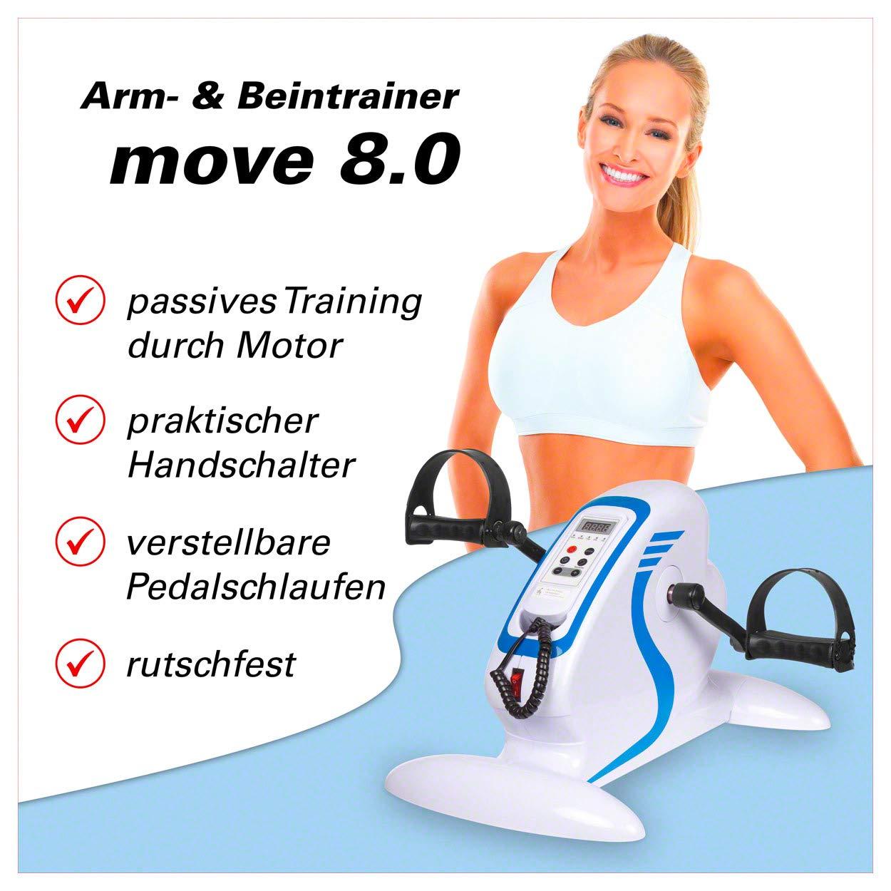 Sport-Tec Arm- und Beintrainer Armtrainer Home Fitness Fitrnesstrainer motorgestützt mit Display