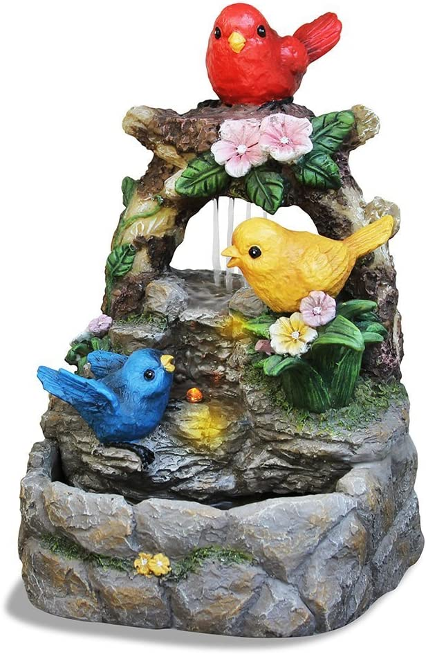 Newport Coast Collections Feathered Friends LED Fountain Adapter