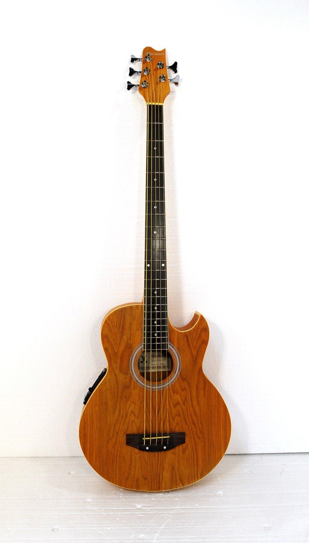 5 String Acoustic Electric Cutaway Bass Guitar
