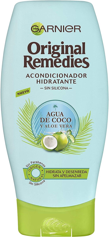 Garnier Original Remedies Agua de Coco y Aloe Vera acondicionador hidratante - 250 ml