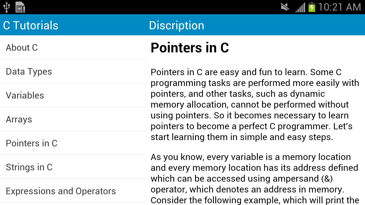 Amazon c language tutorial appstore for android baditri Gallery