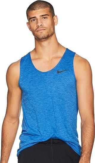 939038906 Nike Men's Hyper Dry Breathe Tank Top, Men, 832825-403, Signal Blue