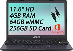 2021 Flagship Asus Vivobook L210 Thin and Light 11 Laptop Computer 11.6