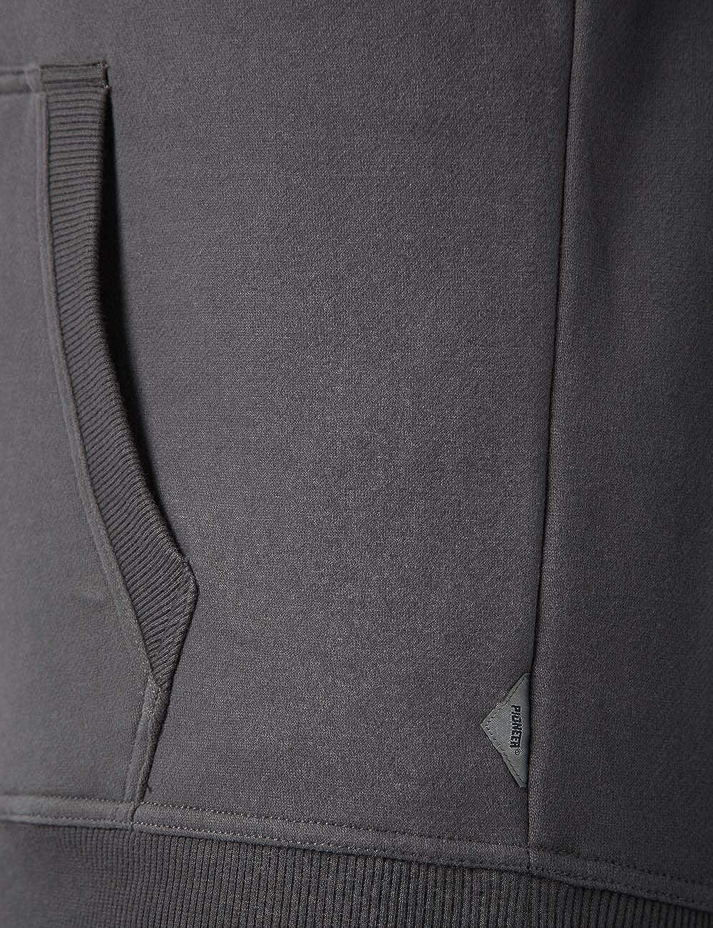 Pioneer Herren Sweat Hoody Sweatshirt Grau (Magnet 163)