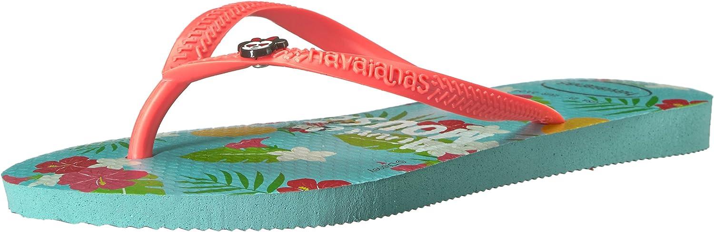 Ice Blue Havaianas Kids Slim Disney Cool Flip Flop Sandal 11//12 M US Little Kid