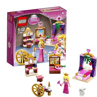 Lego disney princess : sleeping beautys royal bedroom (41060): Toys & Games