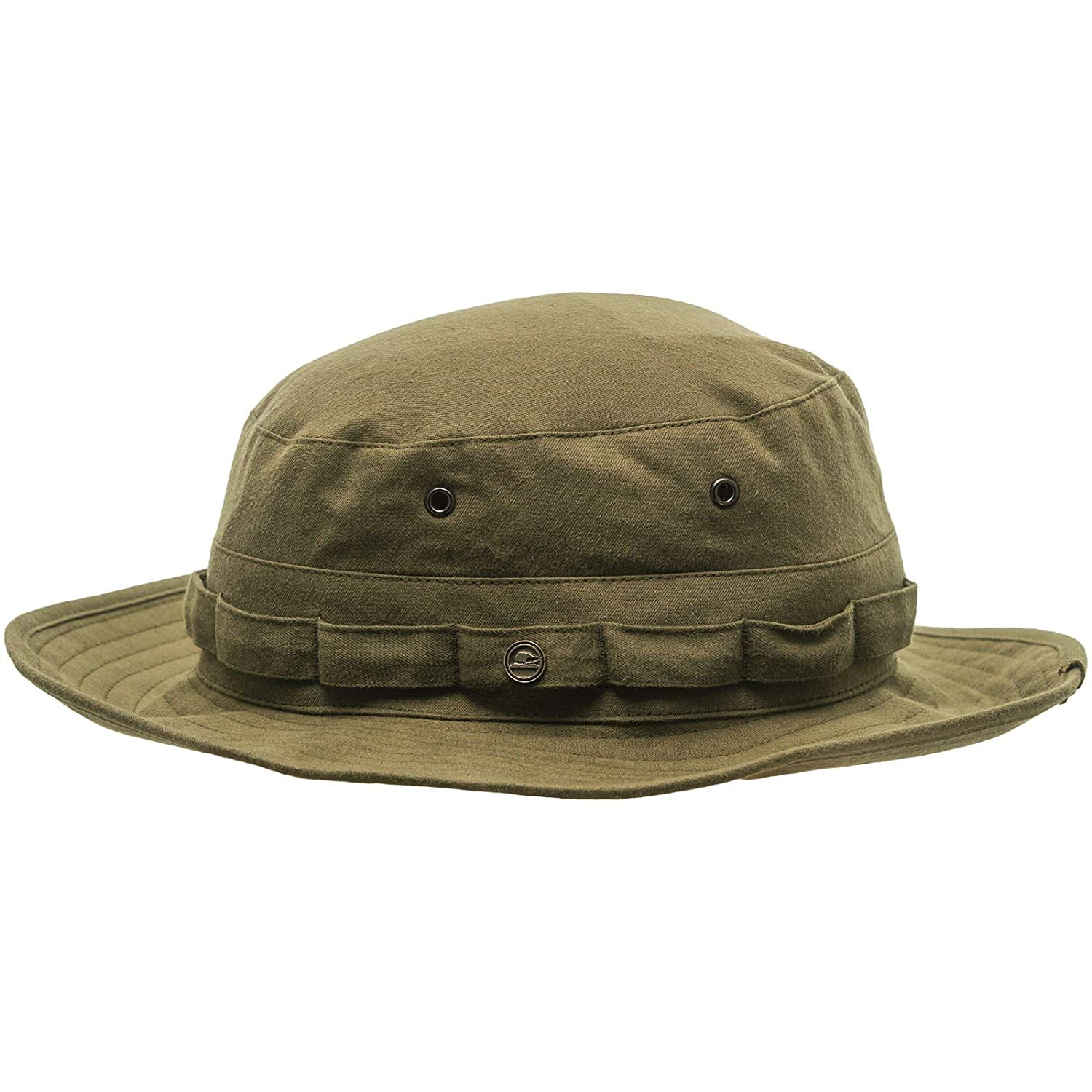 f7fee989bf7 Sterkowski Safari Breathable Hiking Afghan Cotton Hat at Amazon Men s Clothing  store