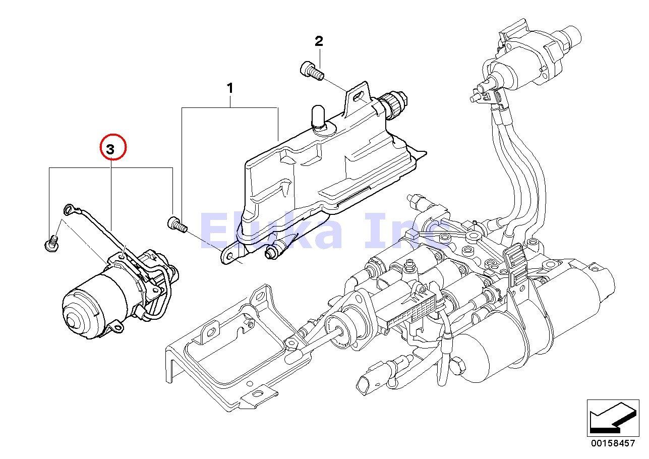 BMW auténtica SMG Depósito de expansión embrague hidráulico unidad Bomba 325 Ci 325i 330 Ci 330i 525i 530i 545i 550i 645 Ci, 650I 645 Ci, 650I Z4 2.5i Z4 ...