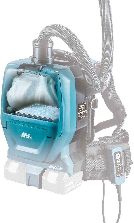 Makita XCV05Z 18V X2 LXT Lithium-Ion Brushless Cordless 1//2 Gallon HEPA Filter Backpack Vacuum