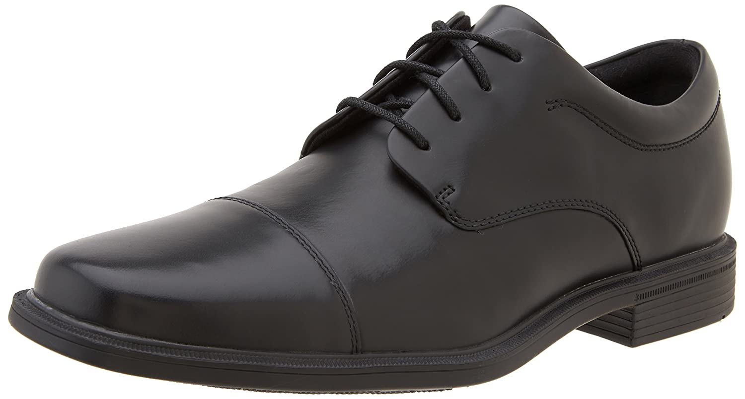 TALLA 40.5 EU. Rockport Office Essentials/ELLINGWOOD Black, Zapatos de Cordones Derby para Hombre