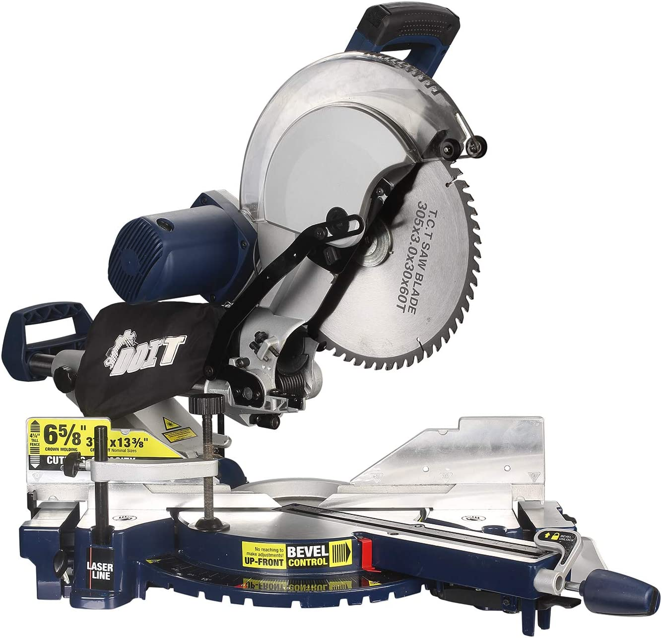 DOIT 12-Inch Dual-Bevel Sliding Compound Miter Saw