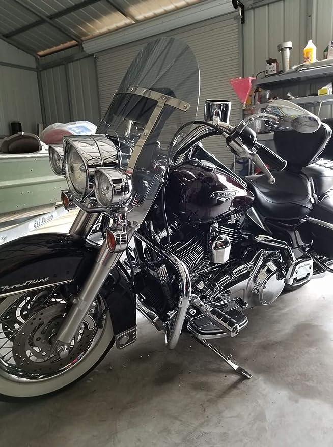 Harley Davidson Road King windshield light tint shorty 14.25 made of superior quality 7130 makrolan polycarbonate