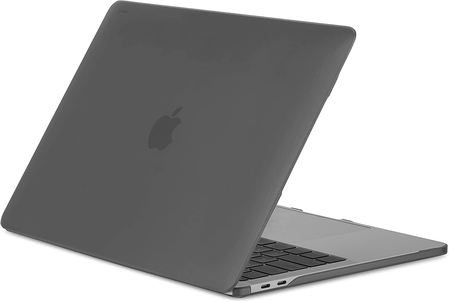 """Moshi iGlaze Hardshell Case for 13"""" MacBook Pro 13 2020 (Thunderbolt 3/USB-C), MacBook Cover, Scratch Protection, Easy Installation and Removal, Good Heat Dissipation, Stealth Black"""