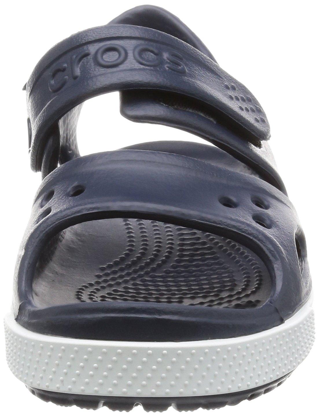 Crocs Kid's Boys and Girls Crocband II Sandal | Pre School, Navy/White, 5 M US Toddler by Crocs (Image #4)