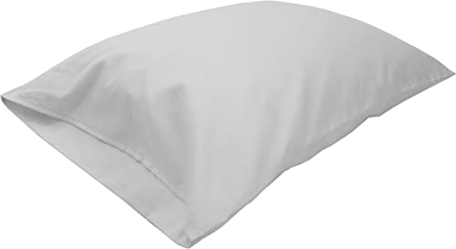 Bean Products Travel Toddler Organic Kapok Pillow White Org Case – 13 x 18 – Organic Cotton Zippered Shell – Made in USA