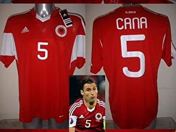 adidas Albanien Lorik Cana Erwachsene XL BNWT Shirt Jersey