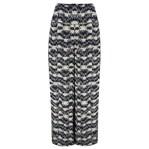 Masai Clothing - Pantalón - para mujer Navy Org XL(UK 16)