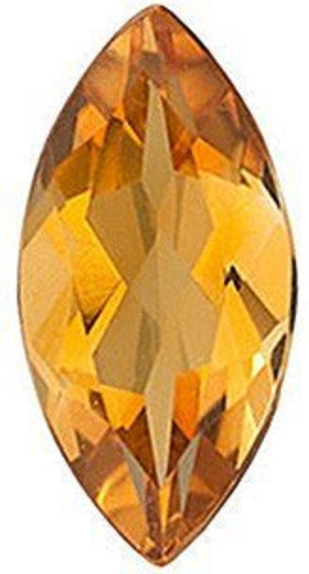 Natural 2.52 Carats 15X7 MM AAA Citrine Marquise-Cut (1 PC) Loose Gemstone