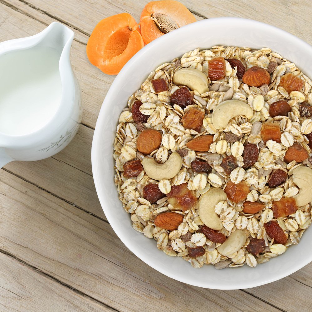 Amazon.com: Seitenbacher Organic Muesli Cashews Almonds Natural Cereal, 16 Ounce: