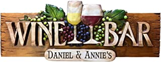 product image for Piazza Pisano Wine Bar Personalized Wall Sign