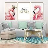 ウォールステッカー フラミンゴ ピンク 動物 鳥 おしゃれ 北欧 インテリア アート ポスター ステッカー モダンアート シール式ステッカー 飾り ウォールデコ ウォールペーパー ウォール 装飾 M0179