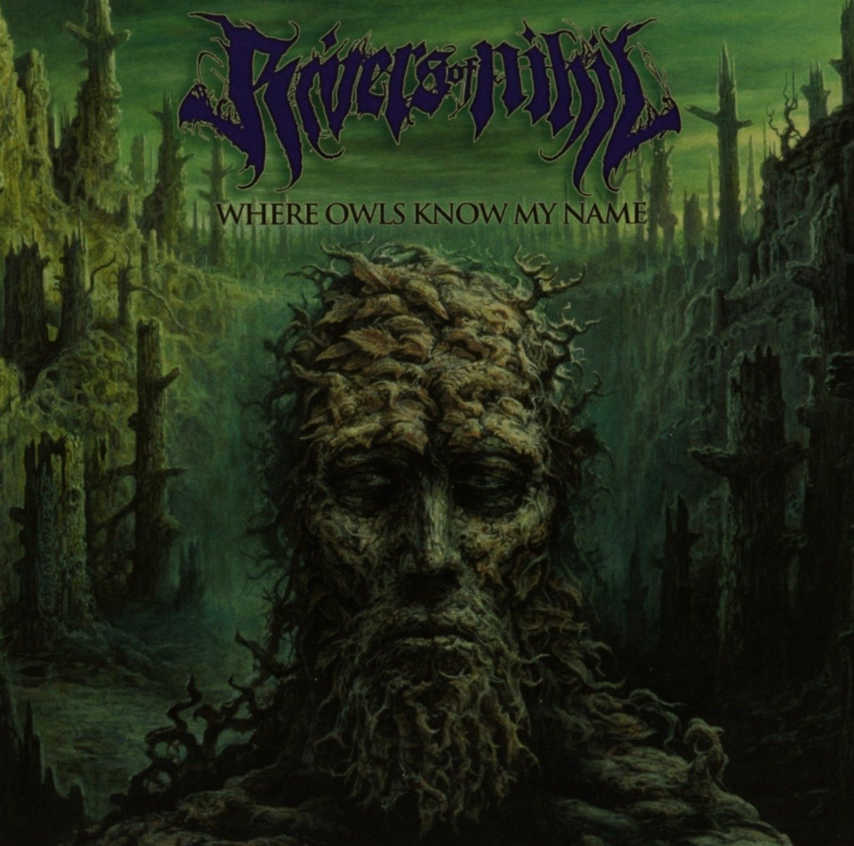 CD : Rivers of Nihil - Where Owls Know My Name (CD)