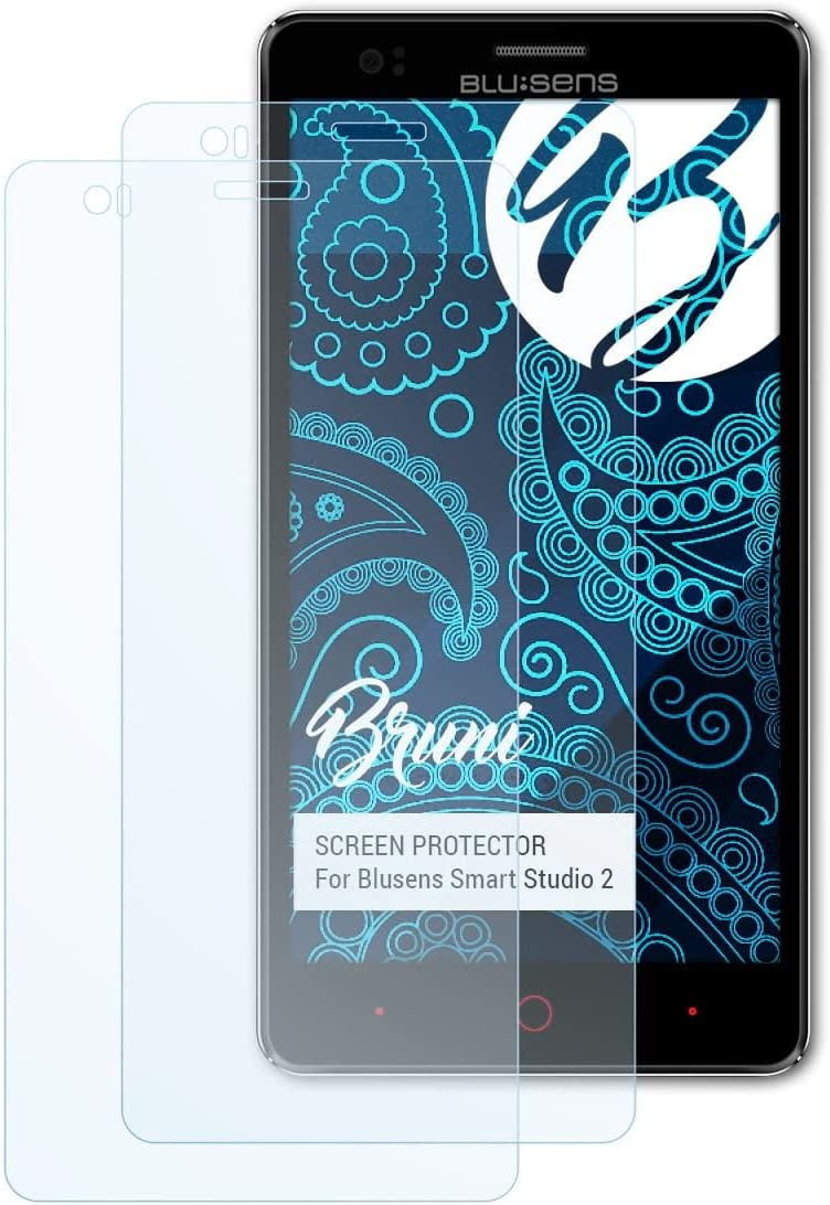 Bruni Película Protectora para Blusens Smart Studio 2 Protector Película, Claro Lámina Protectora (2X): Amazon.es: Electrónica
