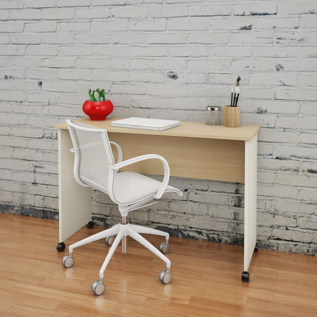 Atelier 351943 Mobile Work Surface from Nexera, Natural Maple Ivory