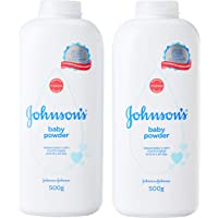 Johnson's Baby Classic Powder, 2 x 500g
