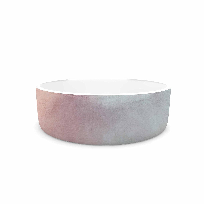 KESS InHouse Iris Lehnhardt Into The Pink Pink bluee Photography Pet Bowl, 7  Diameter