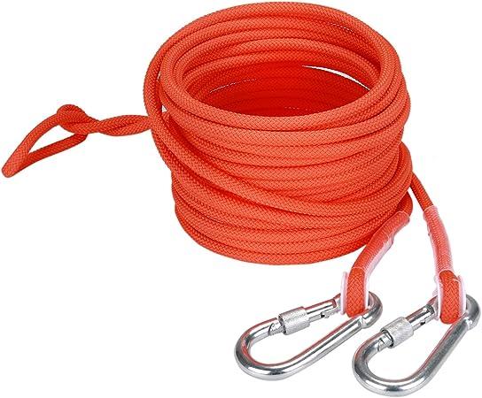 Cuerda de Seguridad con Mosquetón,Cuerda de Escalada con ...