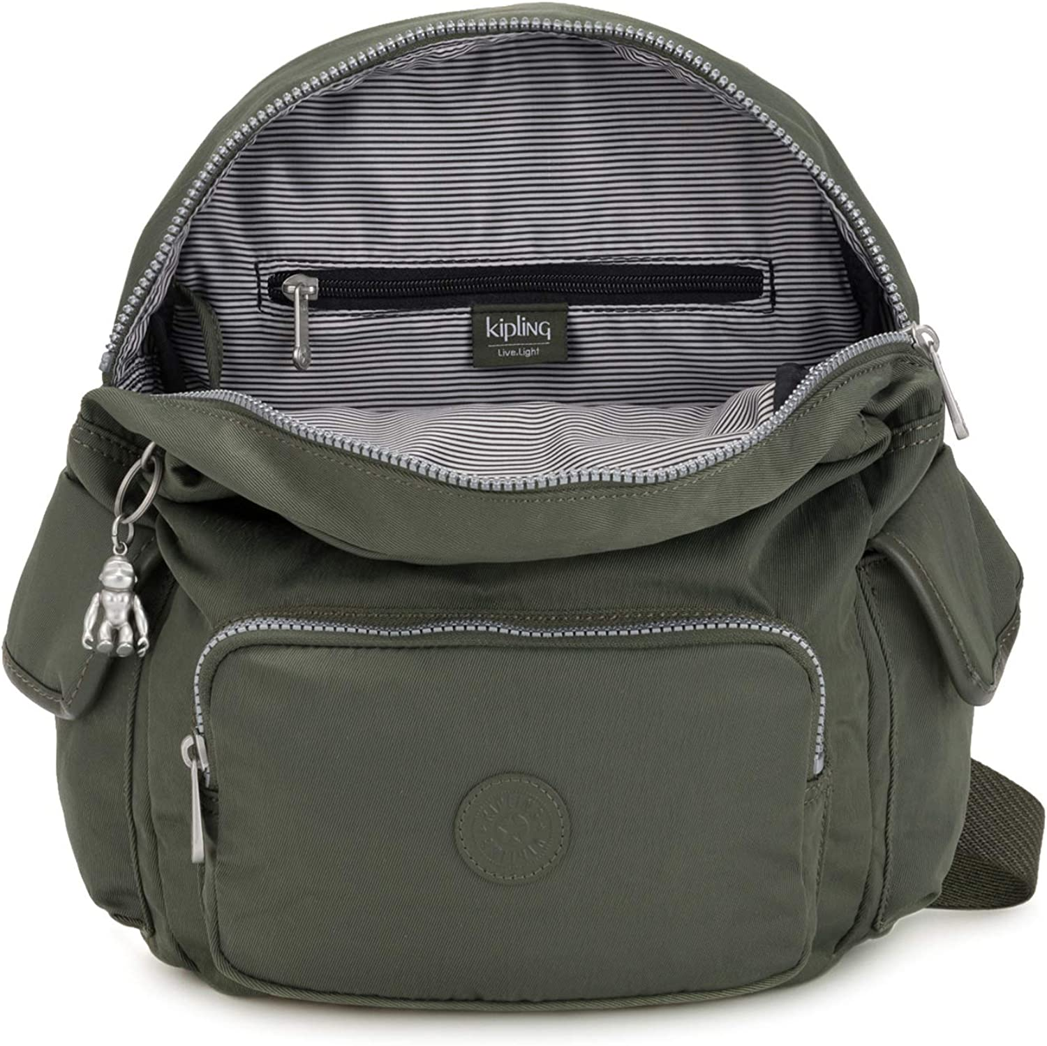 Kipling Basic City Pack S Small Backpack Rich Green: Amazon.es ...