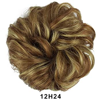 Amazon Barsdar Messy Hair Bun Extensions Hairpiece For Women