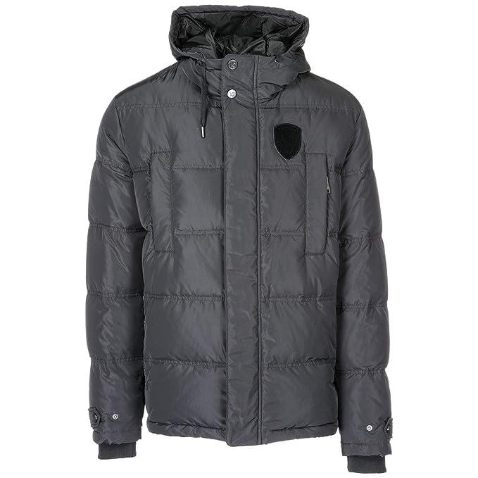 rivenditore all'ingrosso aa790 1a01c Versace Jeans Piumino Uomo Nero 48 EU: Amazon.it: Abbigliamento