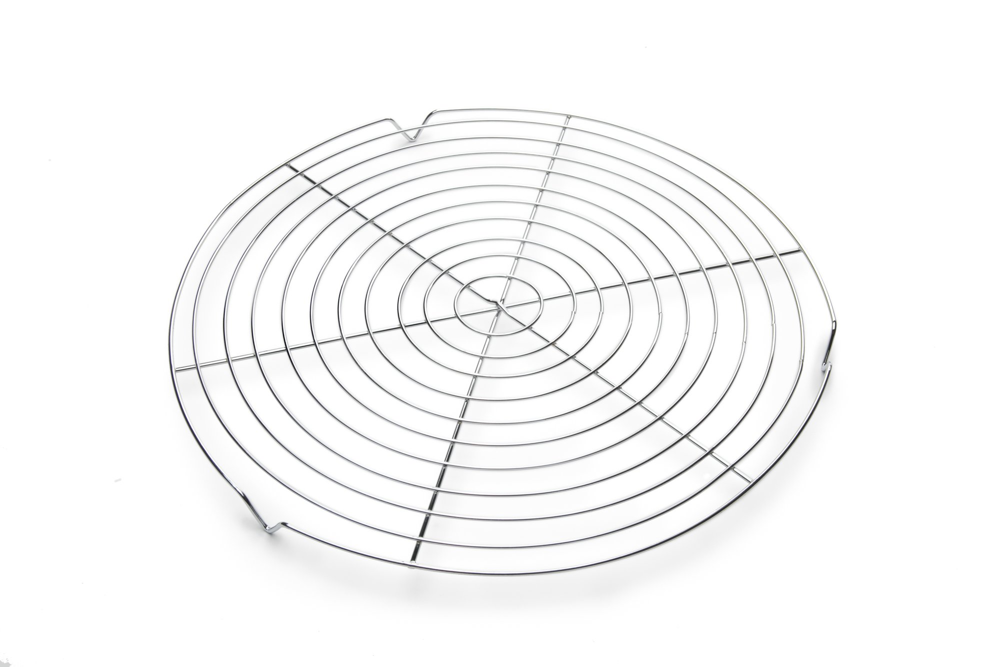 Fox Run 4689 Round Cooling Rack, Iron/Chrome, 13-Inch