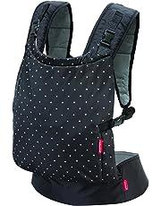Infantino Zip Ergonomic Baby Travel Carrier, Black