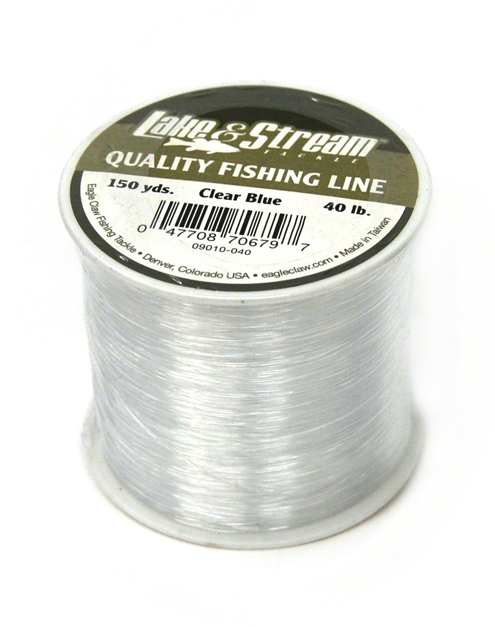 Eagle Claw 50 lb. Test Clear Blue Mono Line – 120 Yards