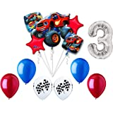 Anagram Blaze and the Monster Machines 3rd Birthday Balloon Decoration Kit