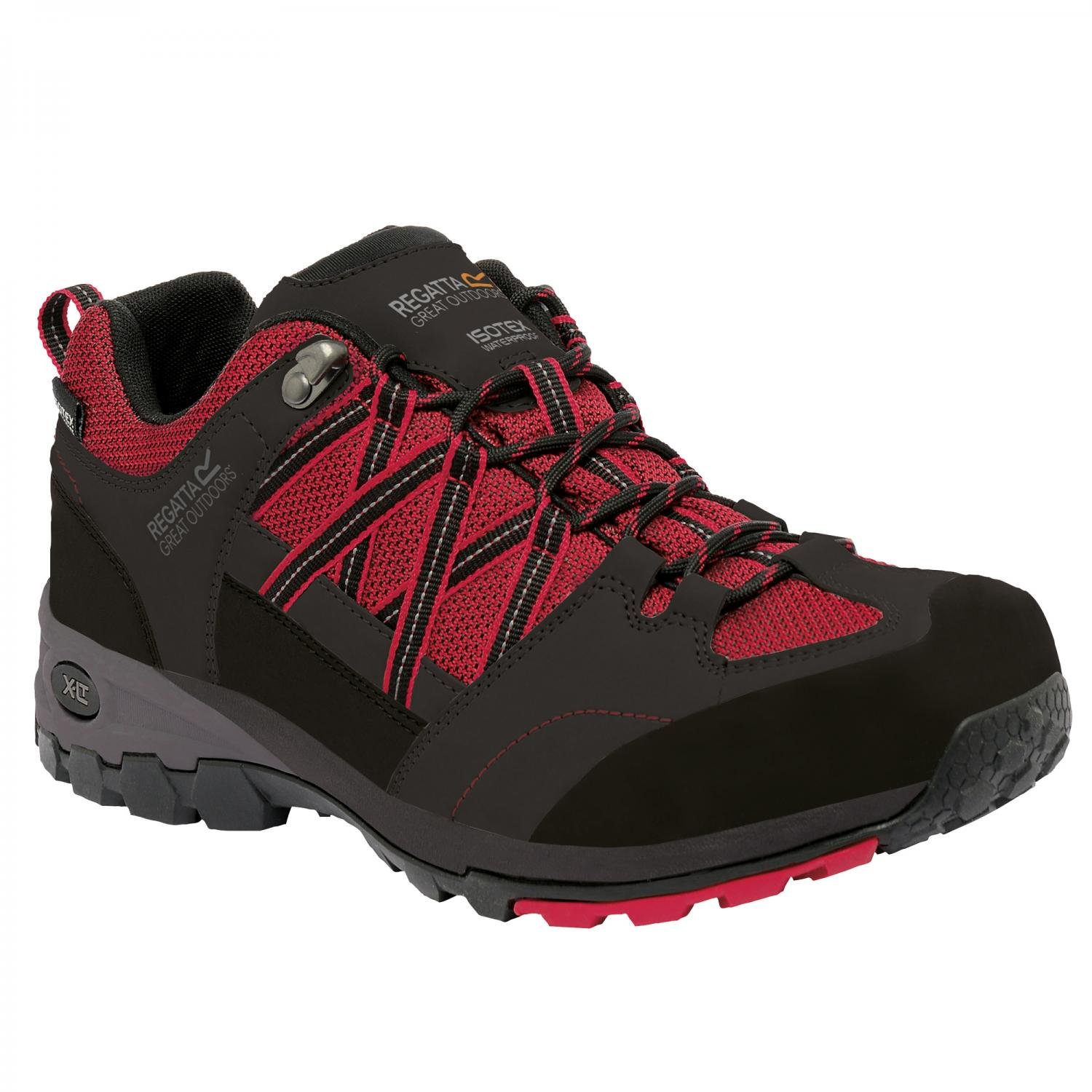 Regatta Great Outdoors Mens Samaris Low Contrast Lace Up Hiking Boots