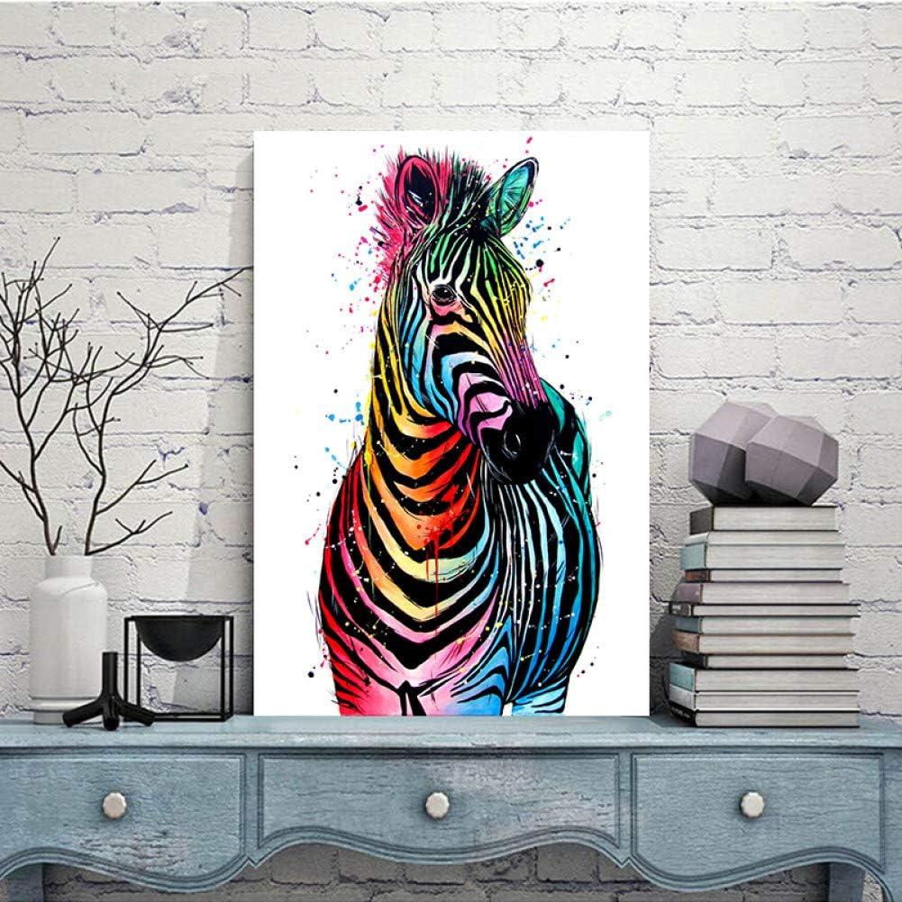 LPHMMD Lienzo Art Deco Decoraci/ón del hogar Toro Animal Pintura al /óleo Lienzo Cuadros de la Pared Sala de Estar Arte de la Pared Imagen p/ósters impresiones-50x70cm