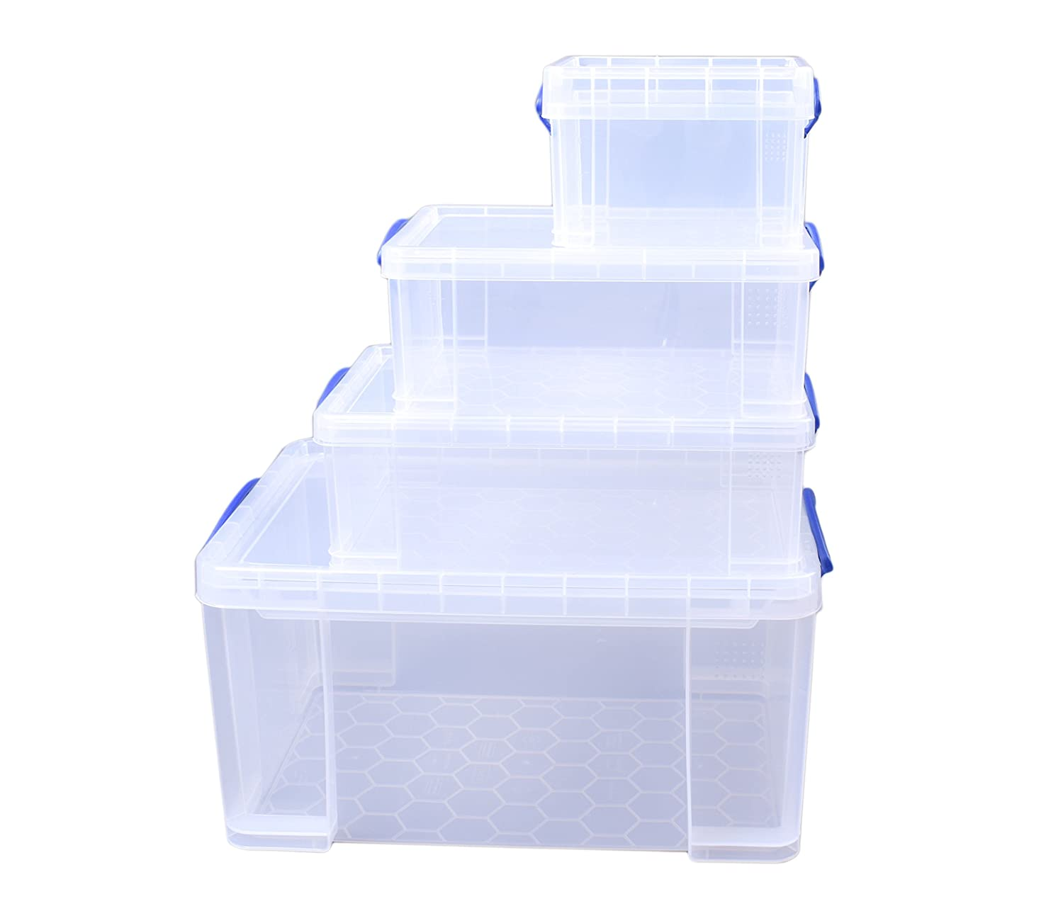 Starter Pack Really Useful 84 35 Clear 9 2 x 3 Litre Storage Box