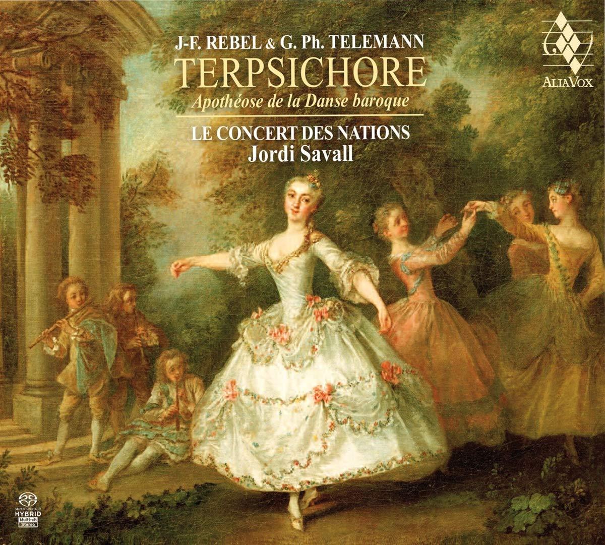 SACD : Jordi Savall - Terpsichore - Apothiose De La Danse Baroque (SACD)