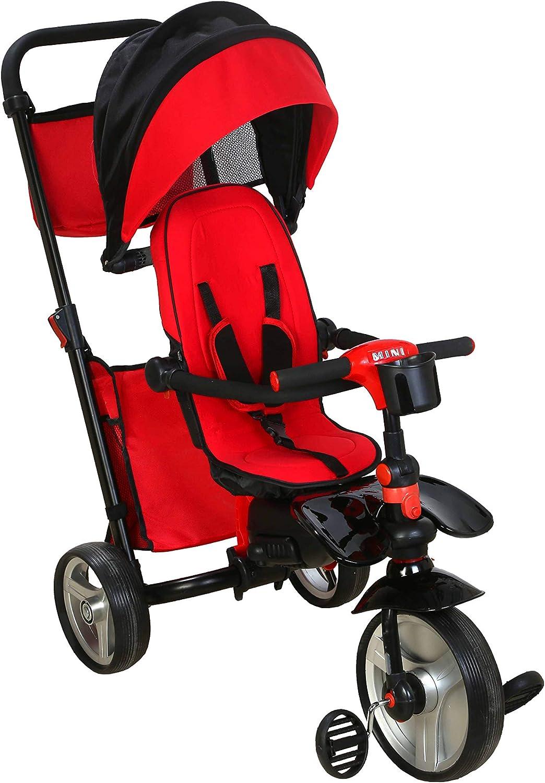 JUGUEA Triciclo Mini Ultra Ligero Rojo