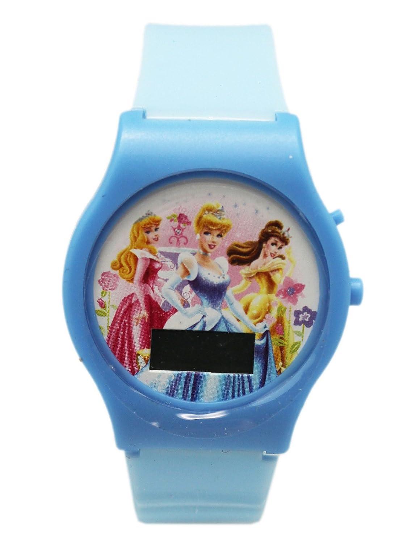 Amazon.com: Light Blue Enchanted Disney Princess Digital ...