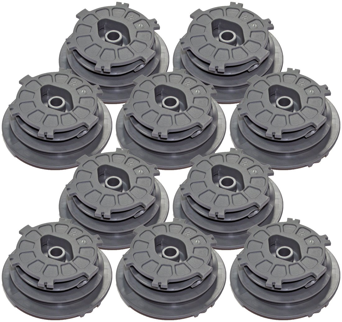Ryobi RY28000 Homelite UT22600 Trimmer Replacement (10 Pack) EZ Spool # 310412001-10pk